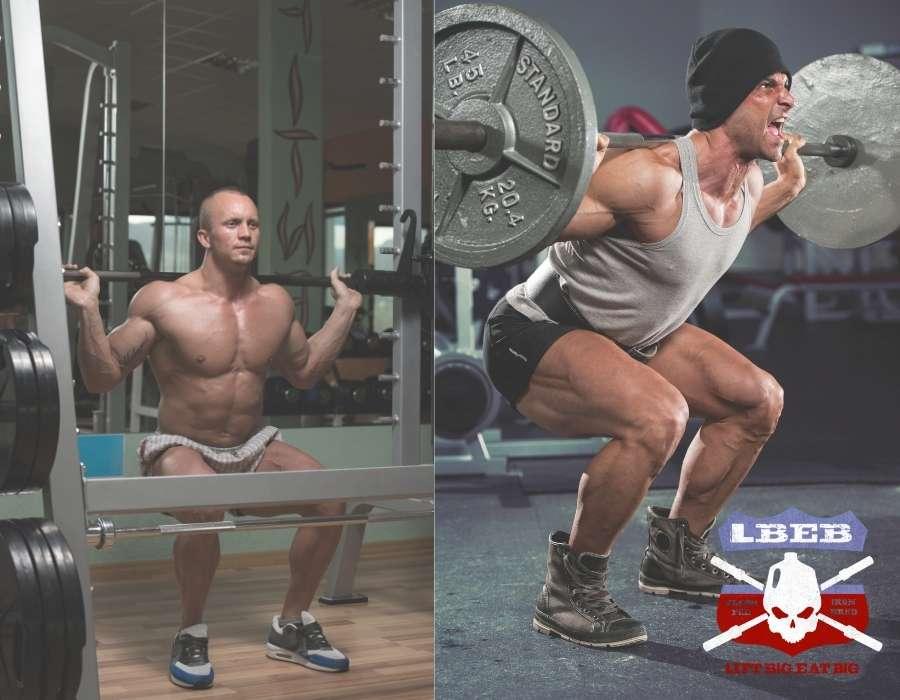 Smith Machine Squats vs. Barbell Squats