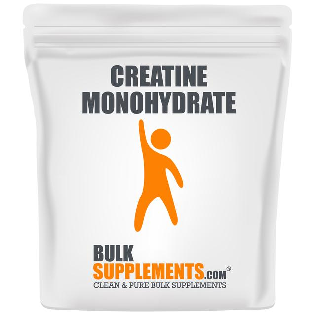 Bulk Supplements Creatine Monohydrate