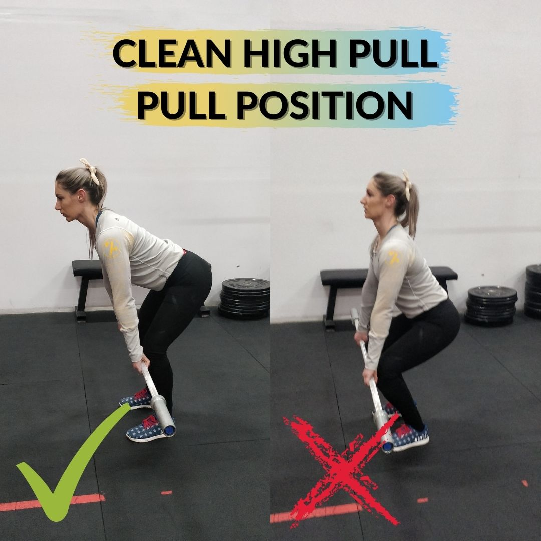 Clean High Pull Pull Position