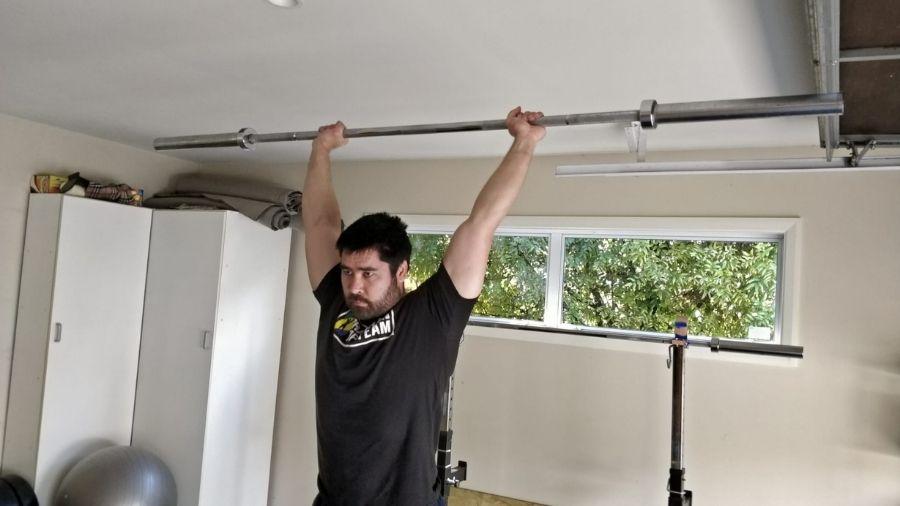 Overhead Press Finish Position